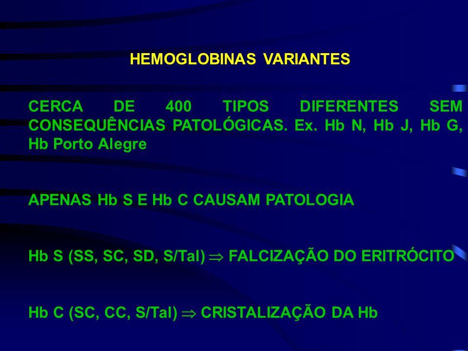 HEMOGLOBINAS VARIANTES