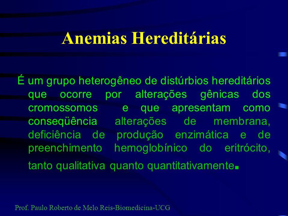 Anemias Hereditárias