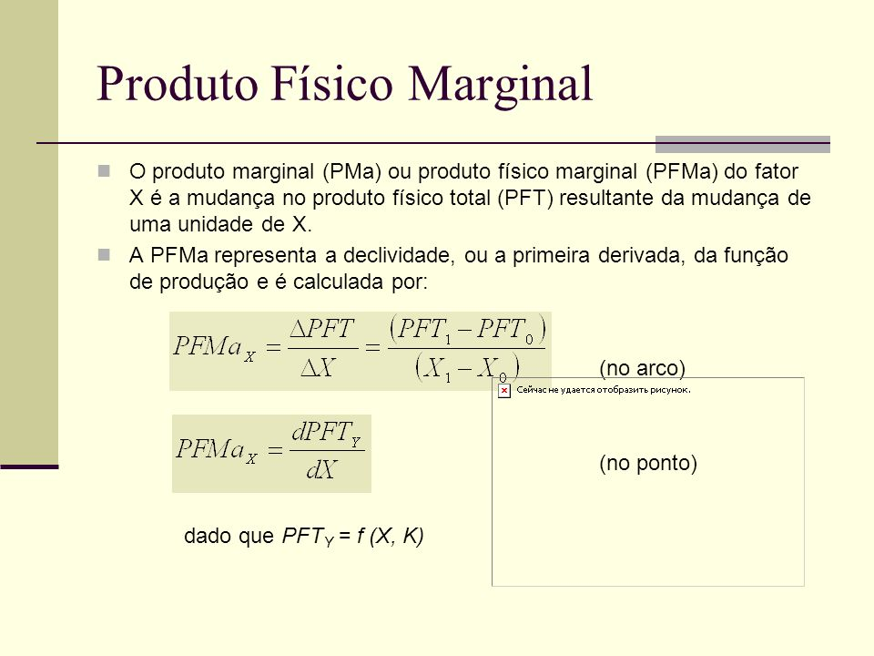 Produto Físico Marginal