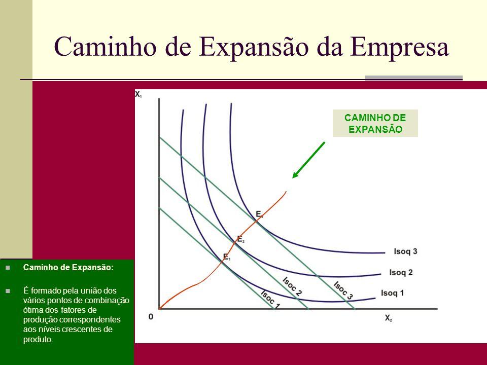 Caminho de Expansão da Empresa