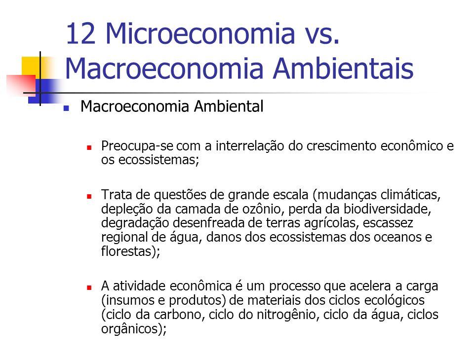 12 Microeconomia vs. Macroeconomia Ambientais