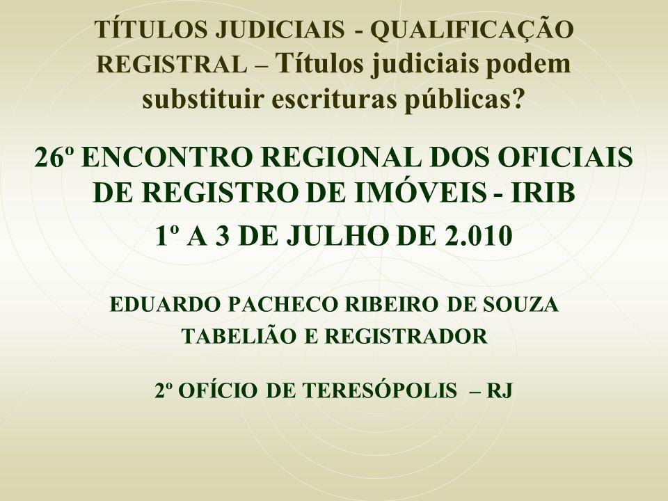 TABELIÃO E REGISTRADOR