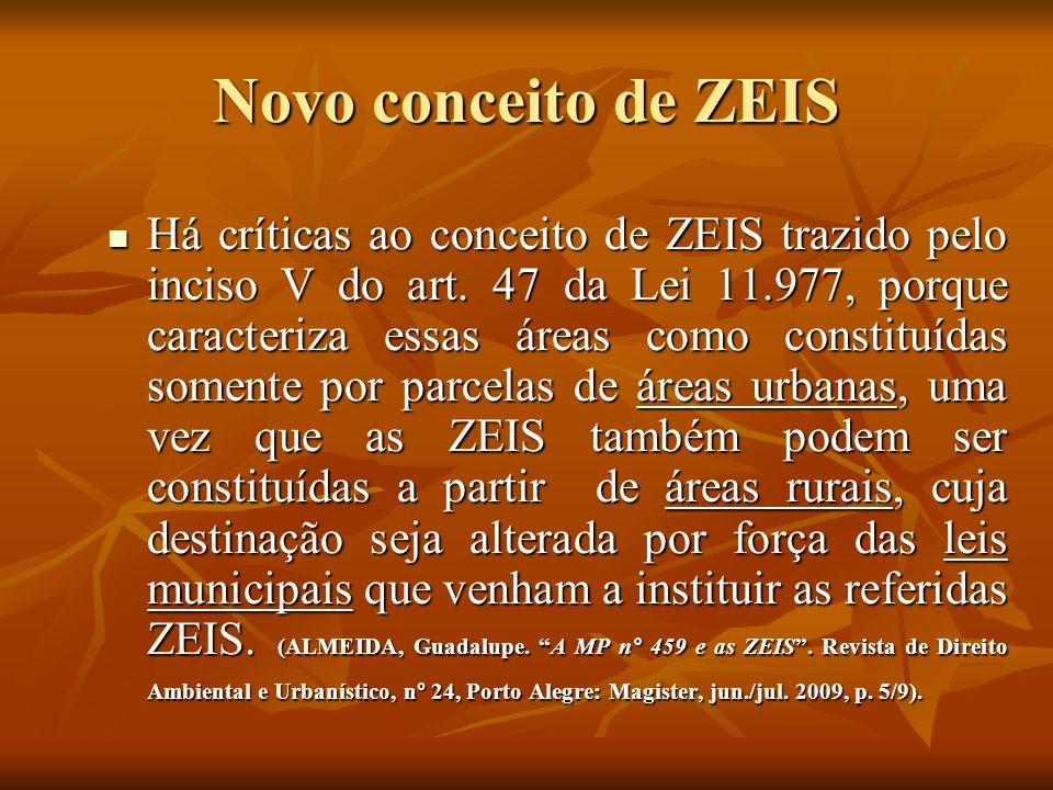 Novo conceito de ZEIS