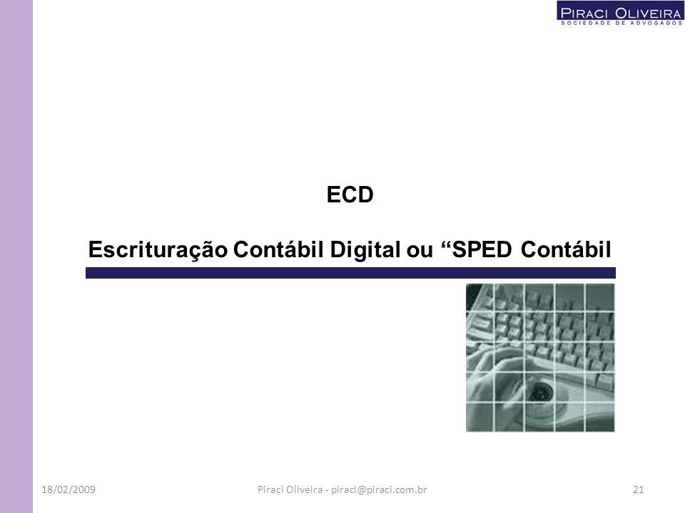Escrituração Contábil Digital ou SPED Contábil