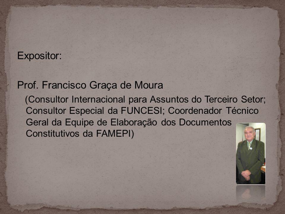 Prof. Francisco Graça de Moura