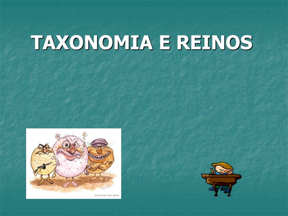 TAXONOMIA E REINOS