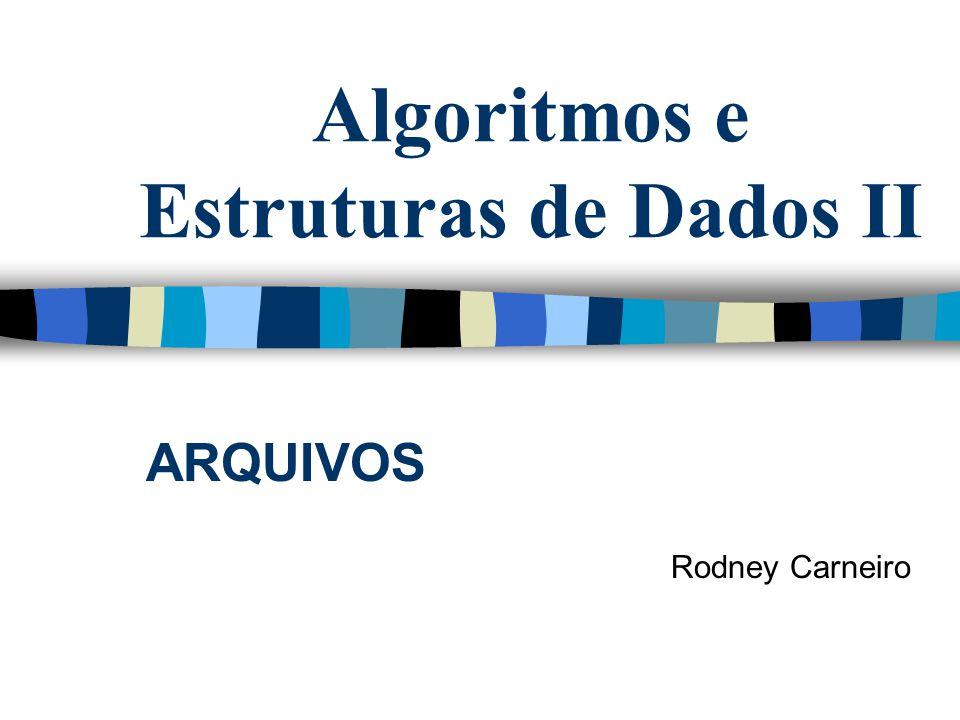 Algoritmos e Estruturas de Dados II