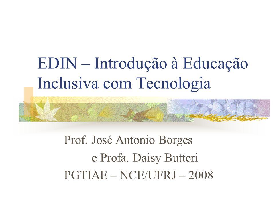 EDIN – Introdução à Educação Inclusiva com Tecnologia