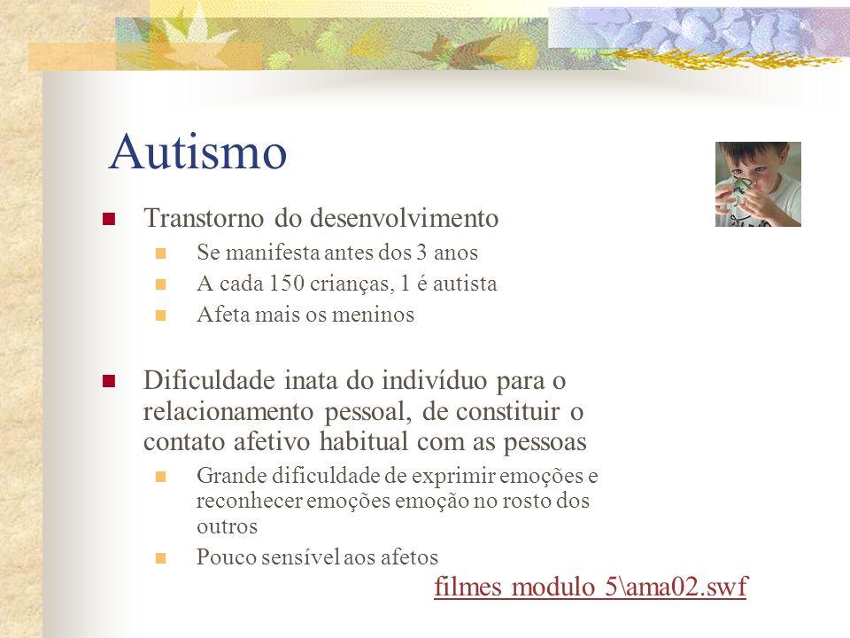 Autismo Transtorno do desenvolvimento