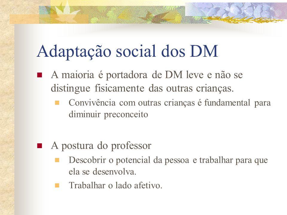Adaptação social dos DM