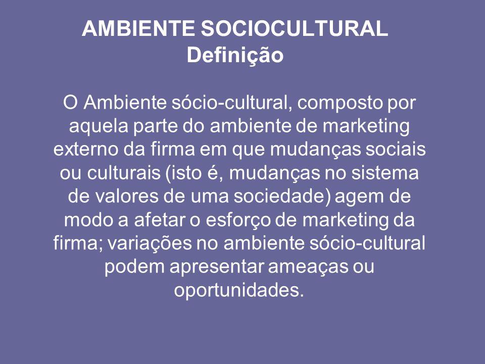 AMBIENTE SOCIOCULTURAL Definição