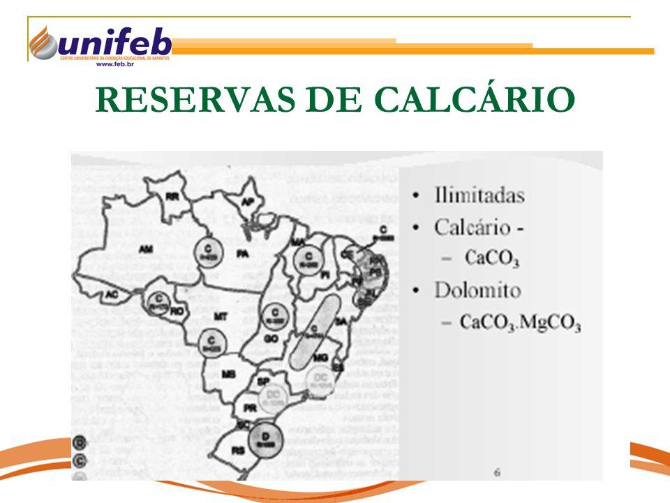 RESERVAS DE CALCÁRIO