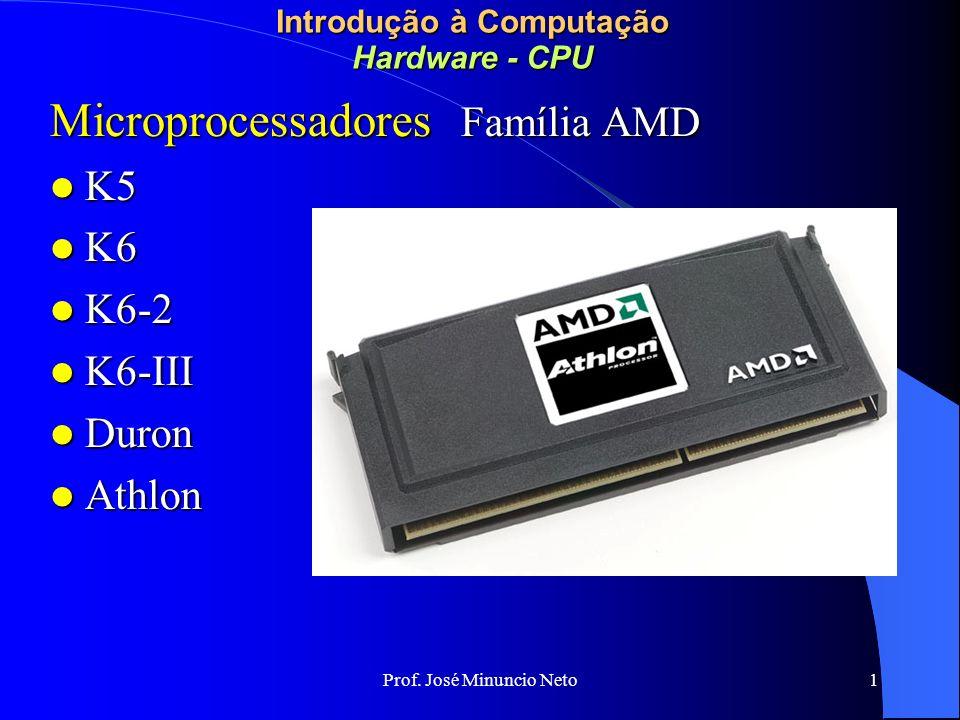 Introdução à Computação Hardware - CPU