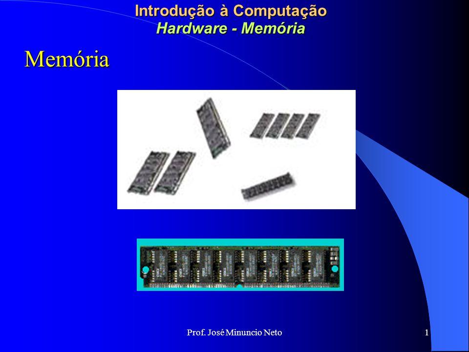 Introdução à Computação Hardware - Memória