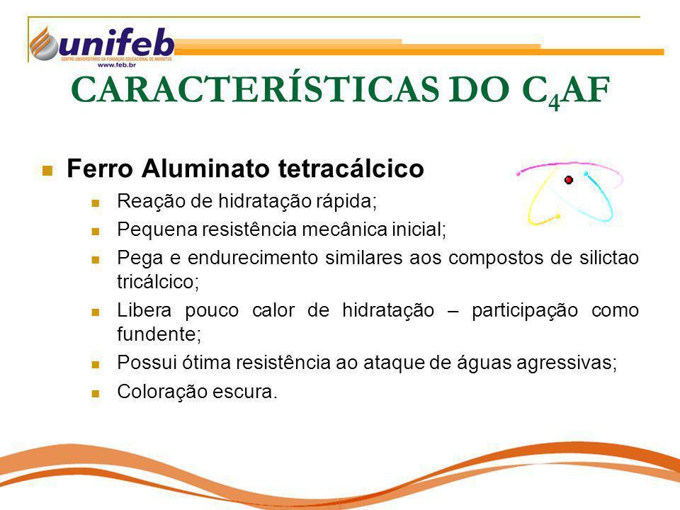 CARACTERÍSTICAS DO C4AF