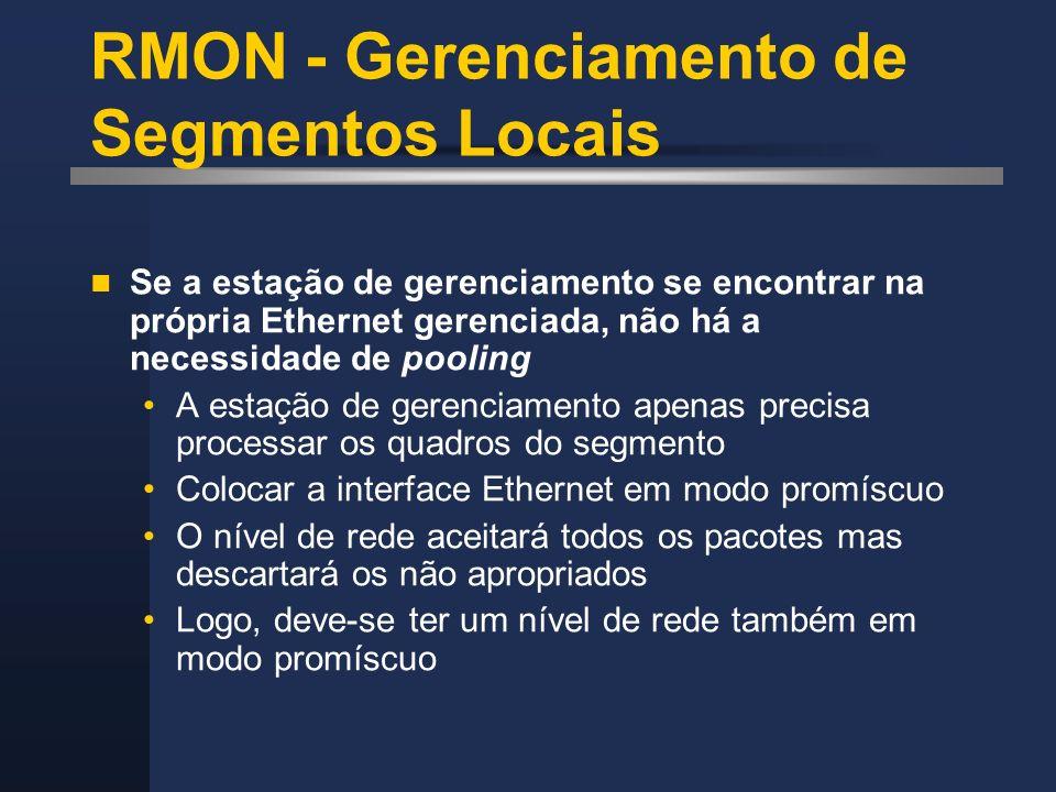 RMON - Gerenciamento de Segmentos Locais