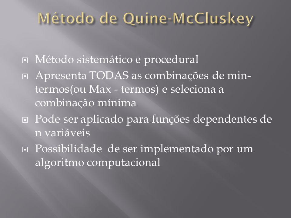 Método de Quine-McCluskey