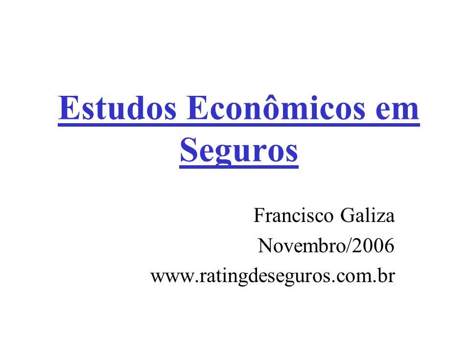 Estudos Econômicos em Seguros