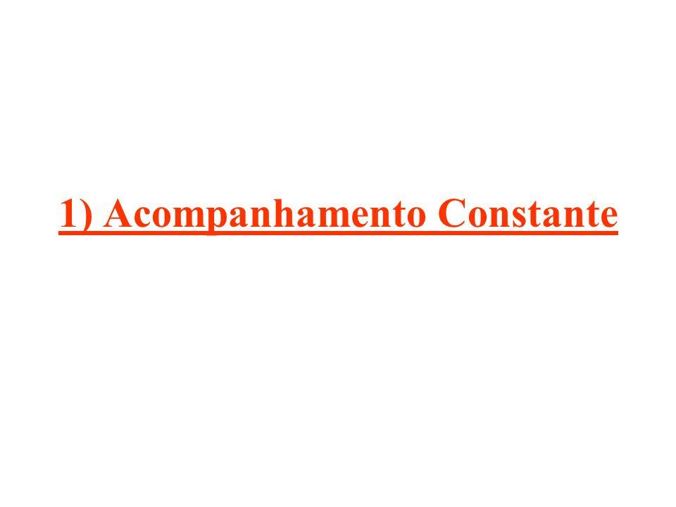 1) Acompanhamento Constante