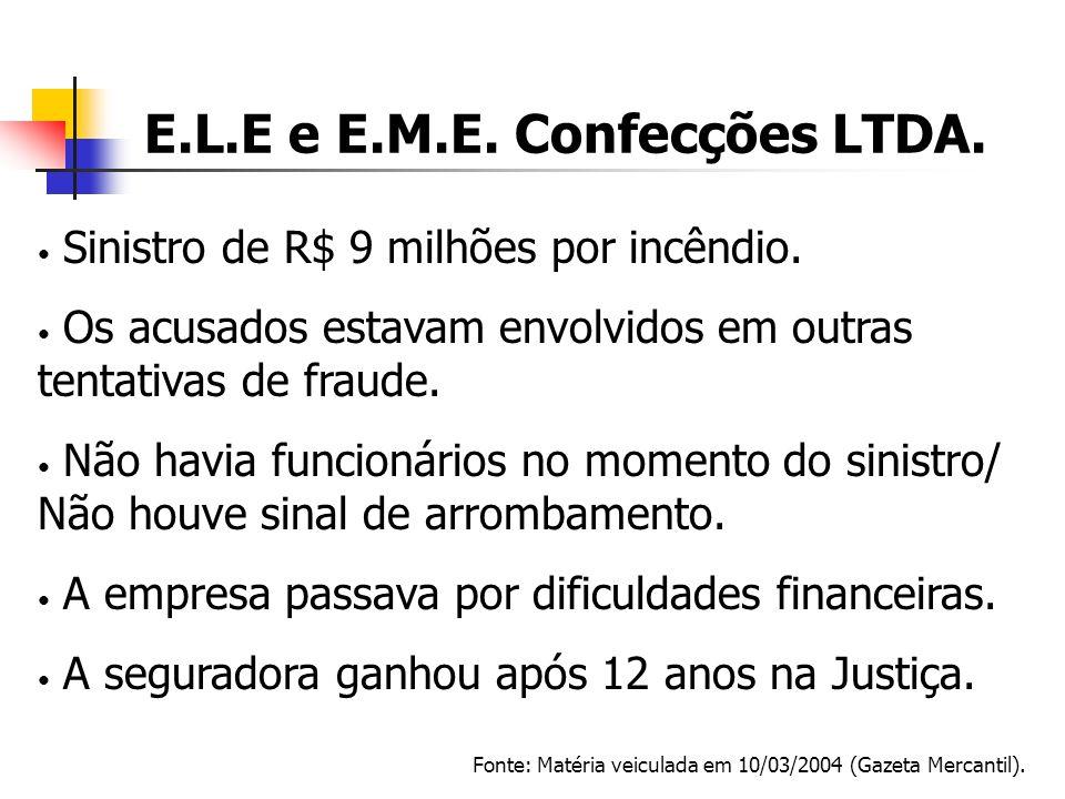 E.L.E e E.M.E. Confecções LTDA.