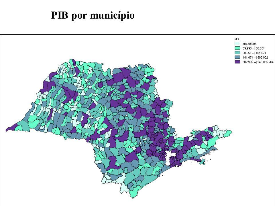PIB por município