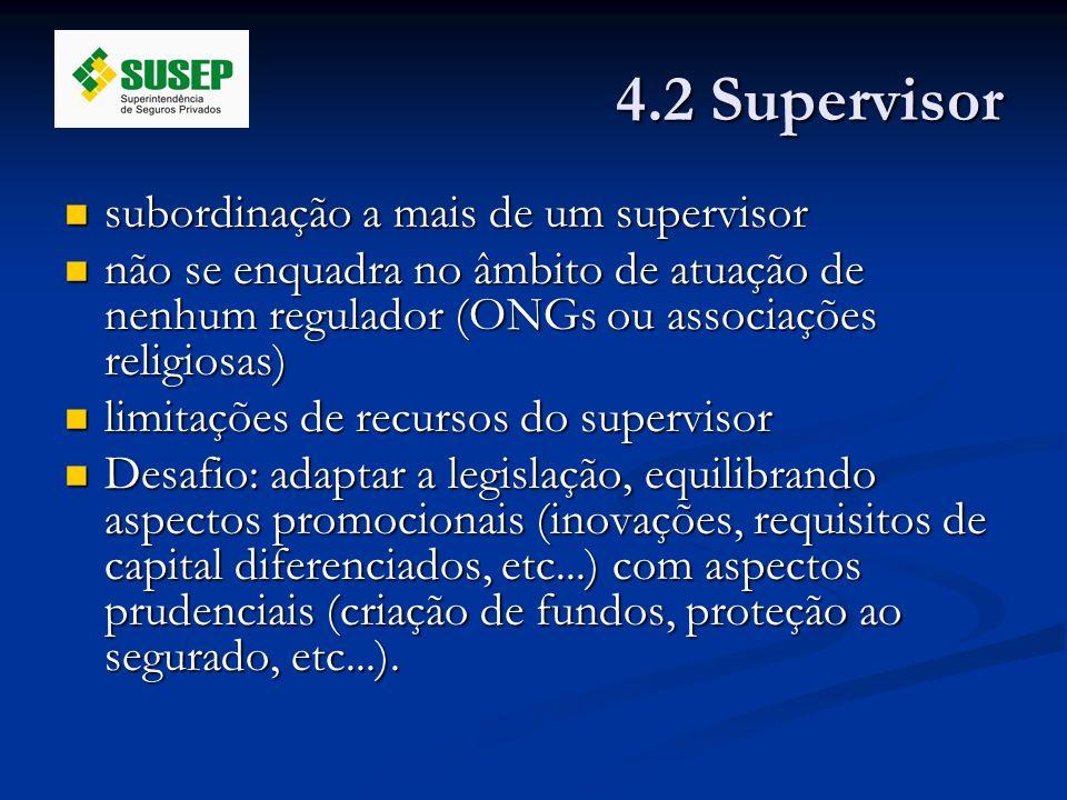 4.2 Supervisor subordinação a mais de um supervisor
