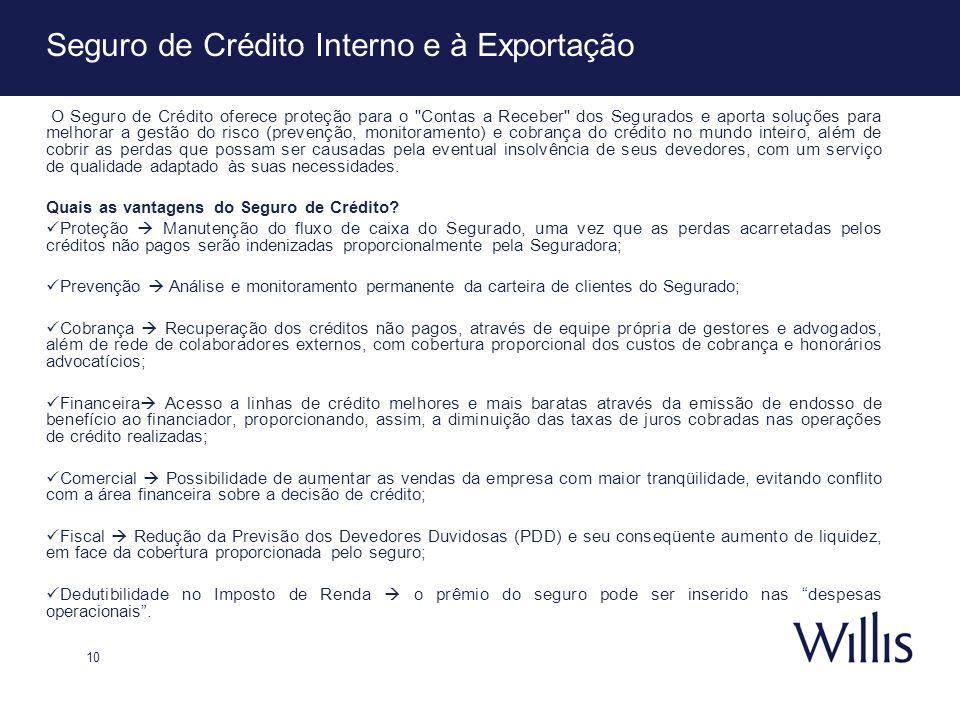 Seguro de Crédito Interno e à Exportação