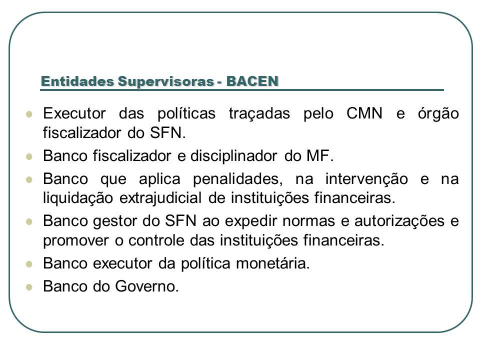 Entidades Supervisoras - BACEN
