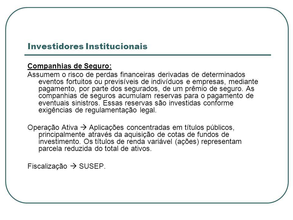 Investidores Institucionais
