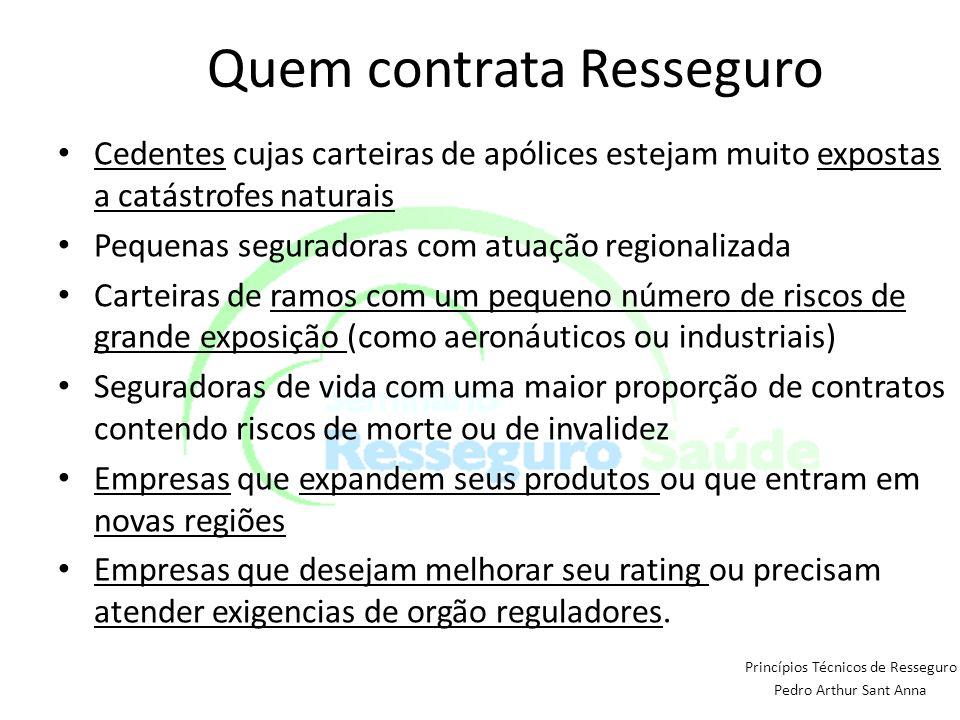 Quem contrata Resseguro