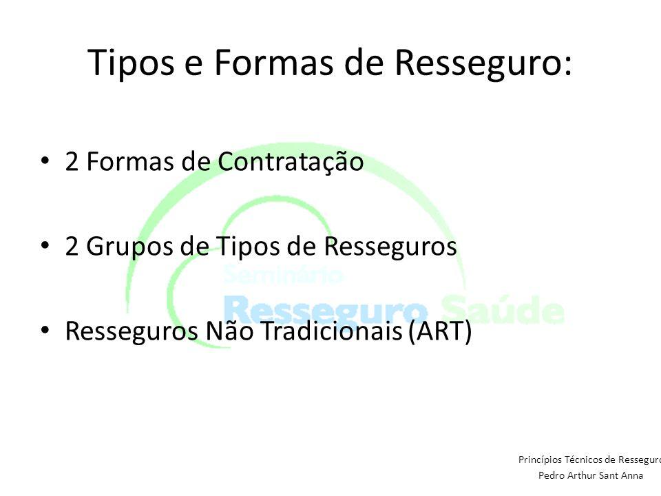 Tipos e Formas de Resseguro: