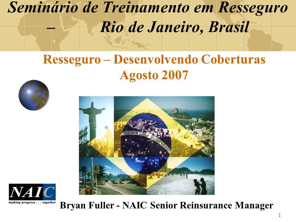 Seminário de Treinamento em Resseguro – Rio de Janeiro, Brasil