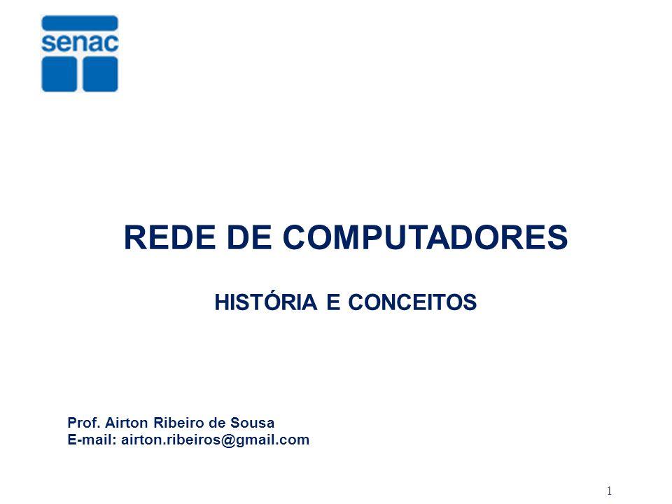 REDE DE COMPUTADORES HISTÓRIA E CONCEITOS