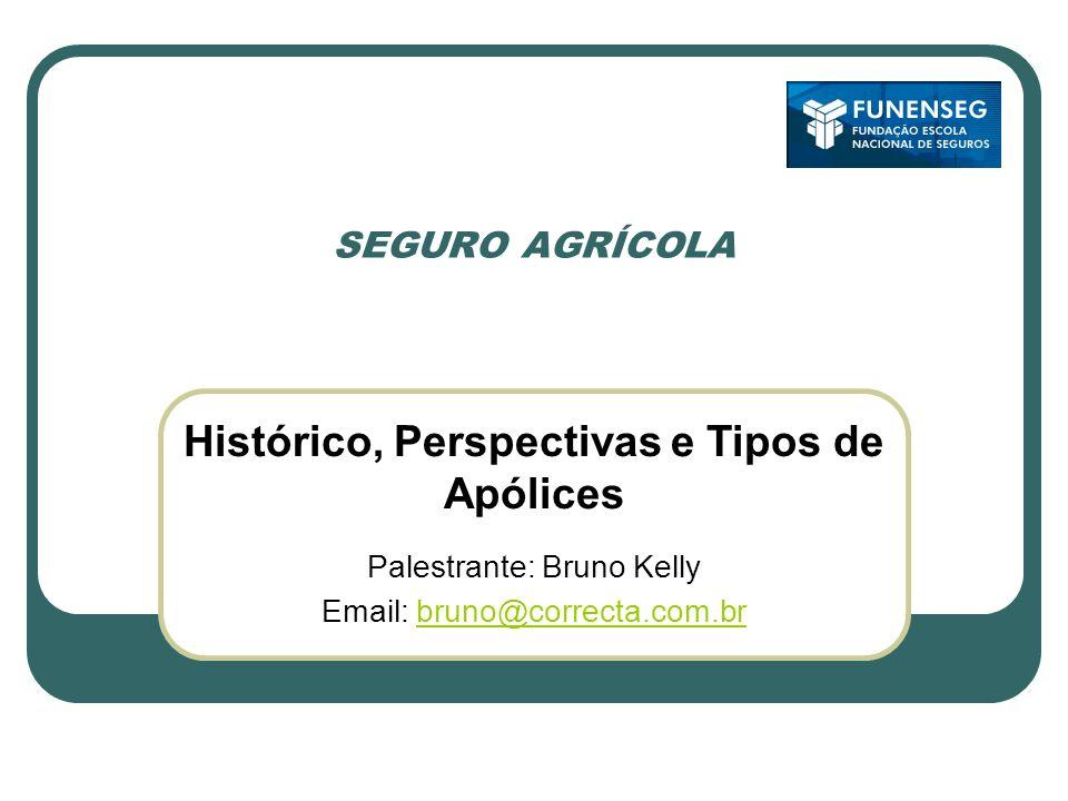 Histórico, Perspectivas e Tipos de Apólices