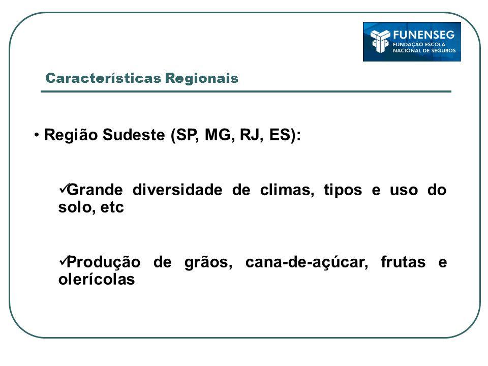 Região Sudeste (SP, MG, RJ, ES):