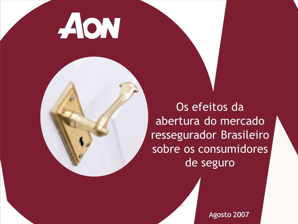 Os efeitos da abertura do mercado ressegurador Brasileiro sobre os consumidores de seguro
