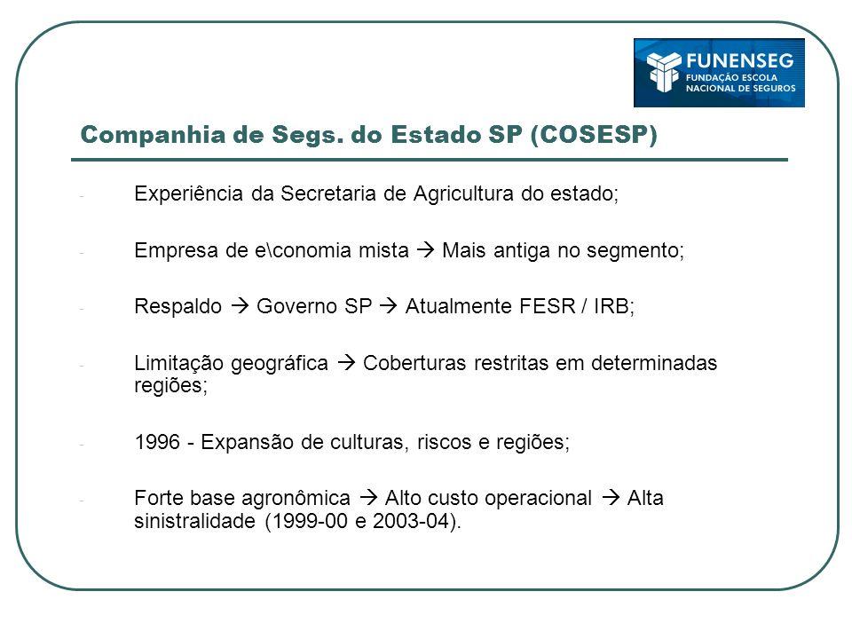Companhia de Segs. do Estado SP (COSESP)