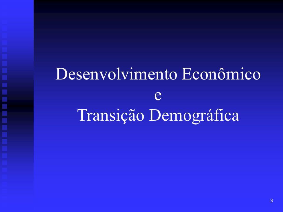 Desenvolvimento Econômico e Transição Demográfica