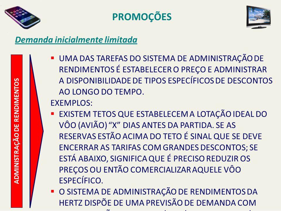 ADMINISTRAÇÃO DE RENDIMENTOS