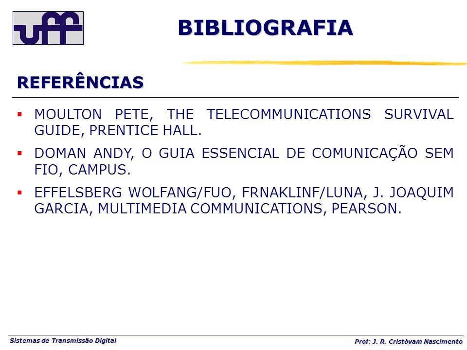 BIBLIOGRAFIA REFERÊNCIAS
