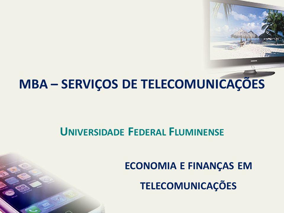 MBA – SERVIÇOS DE TELECOMUNICAÇÕES