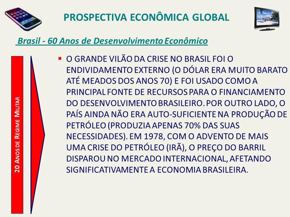 PROSPECTIVA ECONÔMICA GLOBAL