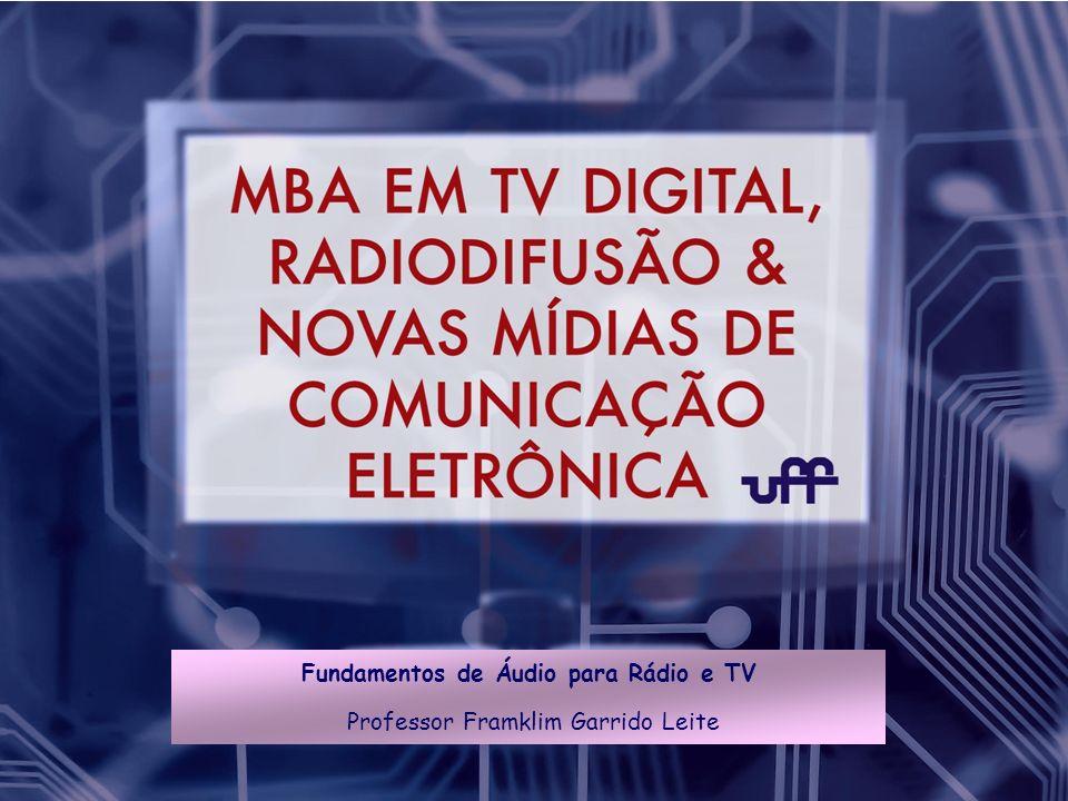 Fundamentos de Áudio para Rádio e TV