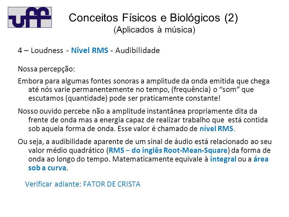 Conceitos Físicos e Biológicos (2) (Aplicados à música)