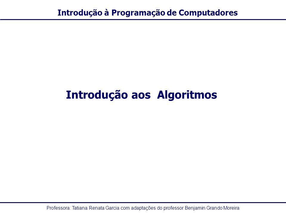 Introdução aos Algoritmos