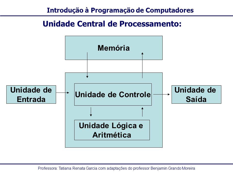 Unidade Central de Processamento: