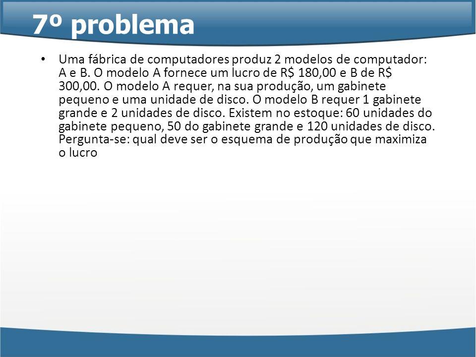 7º problema