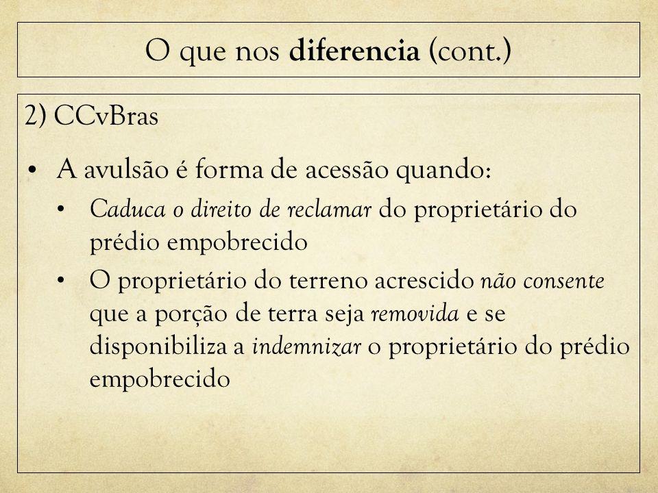O que nos diferencia (cont.)