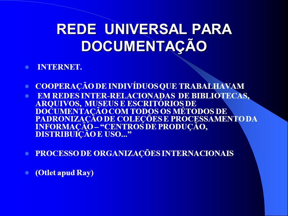 REDE UNIVERSAL PARA DOCUMENTAÇÃO