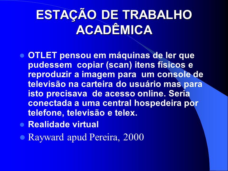 ESTAÇÃO DE TRABALHO ACADÊMICA